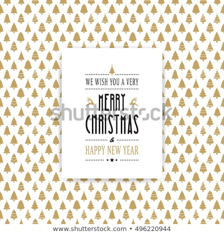vector seamless winter christmas background stock photo © freesoulproduction
