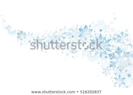 Рождества падение снега зима расплывчатый Сток-фото © SwillSkill