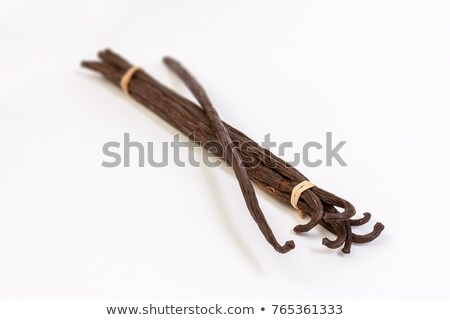 Vanilla Pods Bunch Isolated On White Background Stock photo © ThreeArt