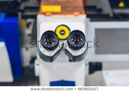 Confocal scanning microscope in laboratory for biological samples investigation Stock photo © galitskaya
