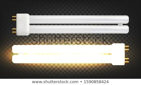 照明 ランプ 2 蛍光灯 ベクトル ストックフォト © pikepicture