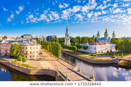 St. Nicholas Naval Cathedral, Saint Petersburg, Russia Stock photo © borisb17