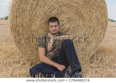 Stock foto: Rbeitsloser · Mann