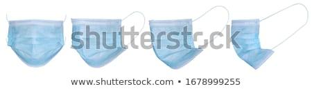 Bescherming masker Blauw exemplaar ruimte kamer Stockfoto © ThreeArt