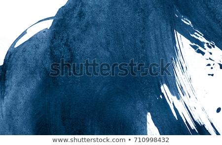 Abstract blu acquerello macchia texture design Foto d'archivio © SArts