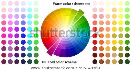 Cool цвета свежие цветами воды аннотация Сток-фото © CarmenSteiner