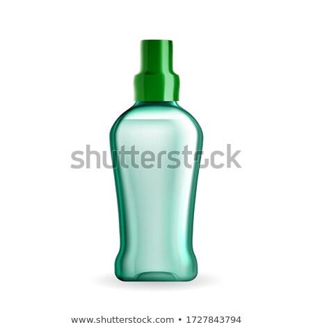 Mouthwash Hygienic Liquid Blank Bottle Vector Stock photo © pikepicture