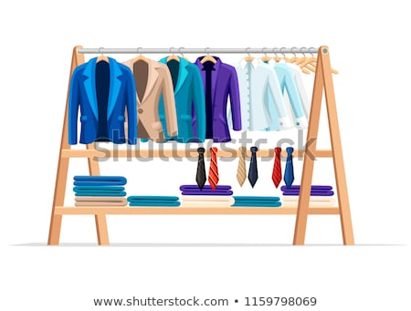 Garment Retail, Wardrobe Sale, Clothes Sell Vector Stock photo © robuart
