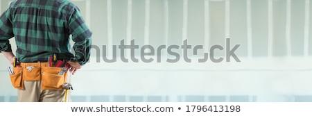мужчины инструментом пояса Сток-фото © feverpitch