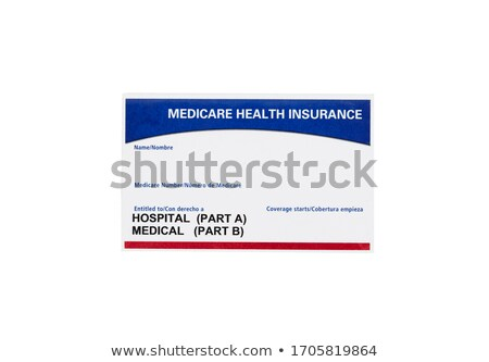 medicare insurance card stock photo © 350jb