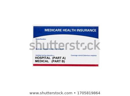 Medicare Insurance Card stock photo © 350jb