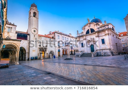 dubrovnik old city architecture stock photo © rognar