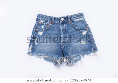 eadcac6de696 Calção · textura · azul · jeans · roupa - foto stock © Ruslan Kudrin ...