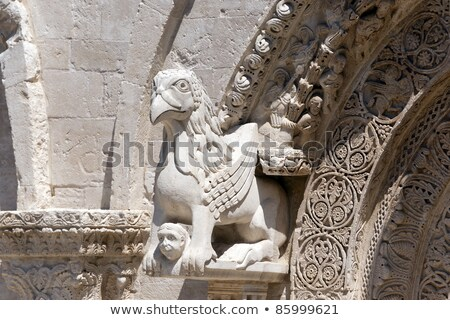 Detail of Ruvo di Puglia Cathedral Stock photo © aladin66