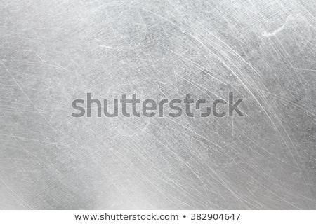 Foto d'archivio: Scratched Metallic Texture