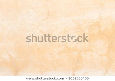 worn white and yellow paint,rows of white tiles        Stock photo © Melvin07