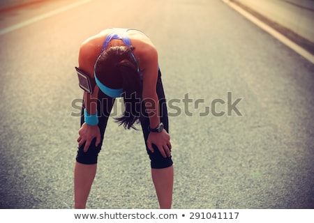 Chinese girl after a workout. stock photo © cardmaverick2
