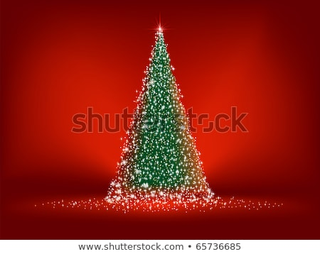 Elegant Christmas star postcard. EPS 8 Stock photo © beholdereye