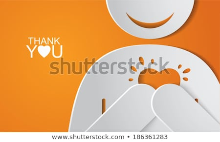 Thank you concept Stock photo © Ansonstock