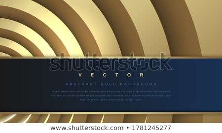 Stock photo: Gift, business card with wavy pattern