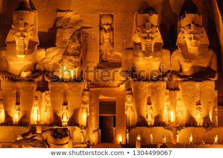храма · Луксор · Египет · текстуры · здании · Palm - Сток-фото © frank11