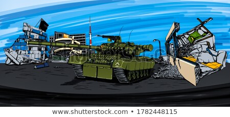 Tank T-80 Stock photo © Aikon