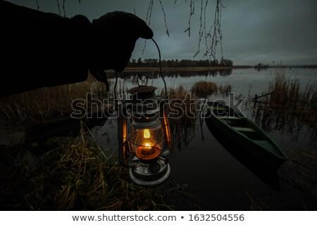 лодка · лампы · судно · свет · кабеля - Сток-фото © lebanmax