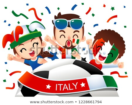 Italian soccer supporters Stock photo © photography33