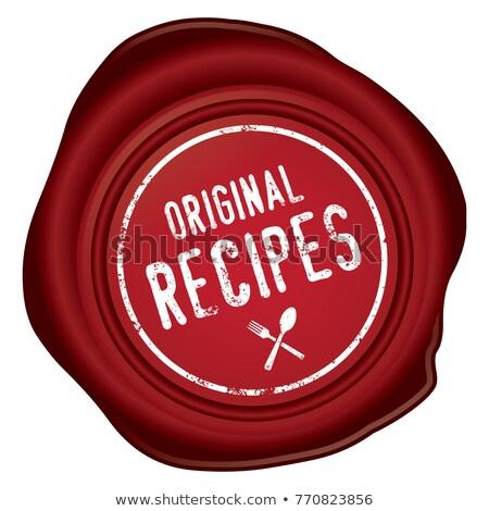 Original recipe stock photo © danielgilbey