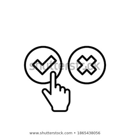 klik · hier · groene · knop · hand · cursor · witte - stockfoto © donskarpo