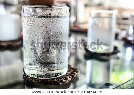 Glass of cold water Stock photo © Sandralise