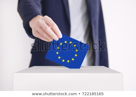 Stock photo: Vote Poll Ballot Box For European Union Elections