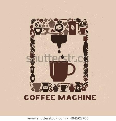 капсулы · современных · красочный · кофе - Сток-фото © studiotrebuchet