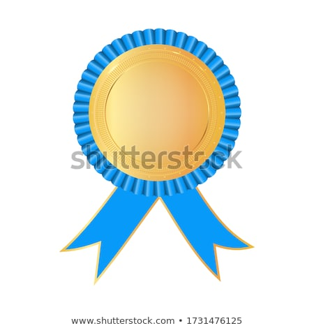 Stock photo: Blue Ribbon for First Place