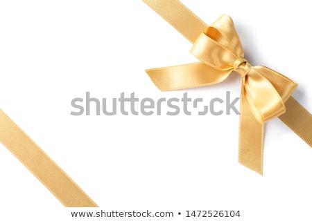 tejido · arco · brillante · colores · aislado · blanco - foto stock © maisicon