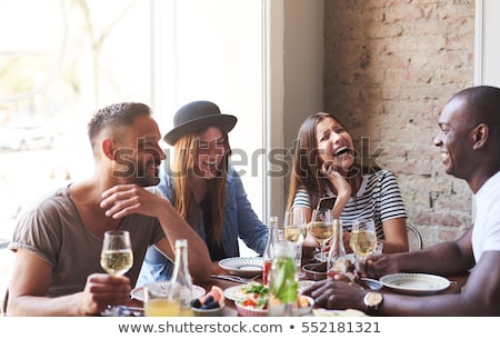 Group of young people gesticulating Stock photo © photography33