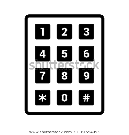 Telephone number pad Stock photo © kyrien