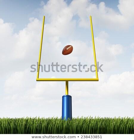 Football extra point  Stock photo © aetb