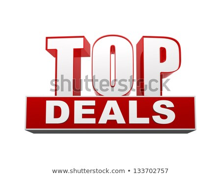 top deals in 3d letters and block Stock photo © marinini