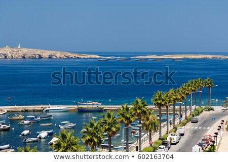 ünnepek görög sziget tájkép kő kilátás Stock fotó © fresh_5775695