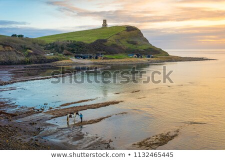 kimmeridge bay in dorset stock photo © flotsom