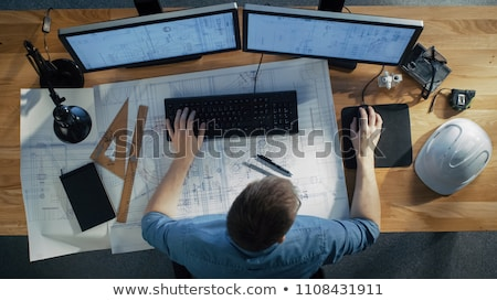 Stock photo: Architecture engineering