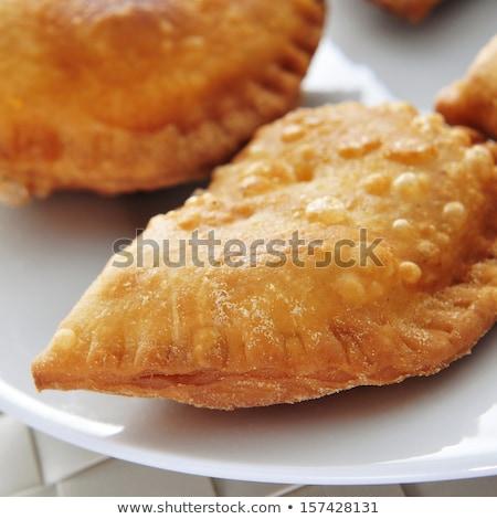 Foto stock: Espanhol · pequeno · carne · atum · tortas