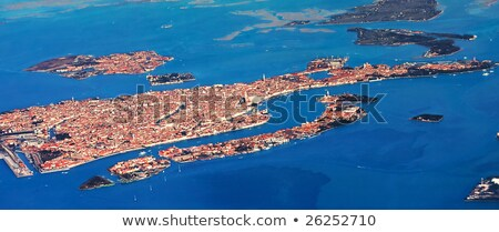 venice from the air stock photo © bloodua