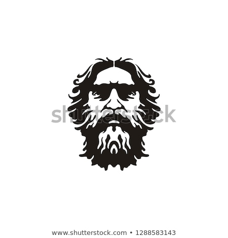 greek mustache symbol stock photo © lightsource