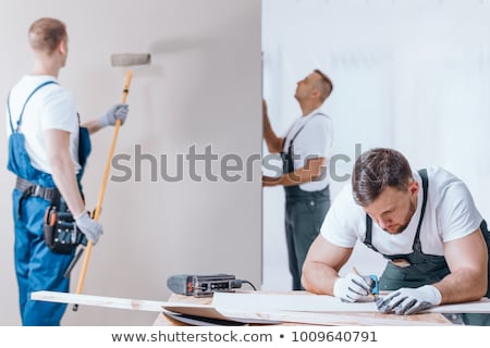 Handyman - Painter Stock photo © nazlisart