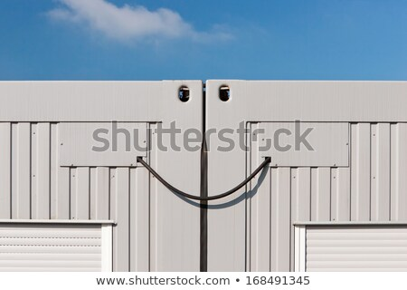 Container junction or just an idustrial smile :-) stock photo © richardjary