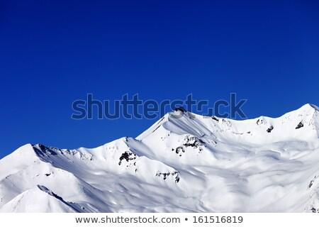 güzel · güneşli · kış · gün · kafkaslar - stok fotoğraf © bsani