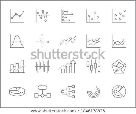 графика · оказывать · группа · бизнеса · карандашом - Сток-фото © stevanovicigor