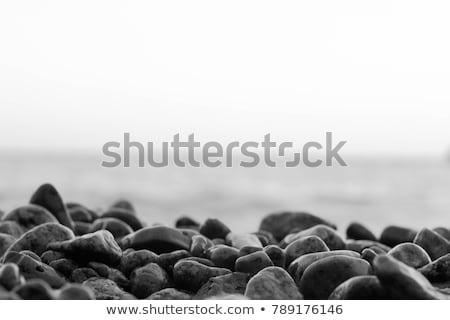 água · do · mar · areia · da · praia · sujo · mar - foto stock © sfinks